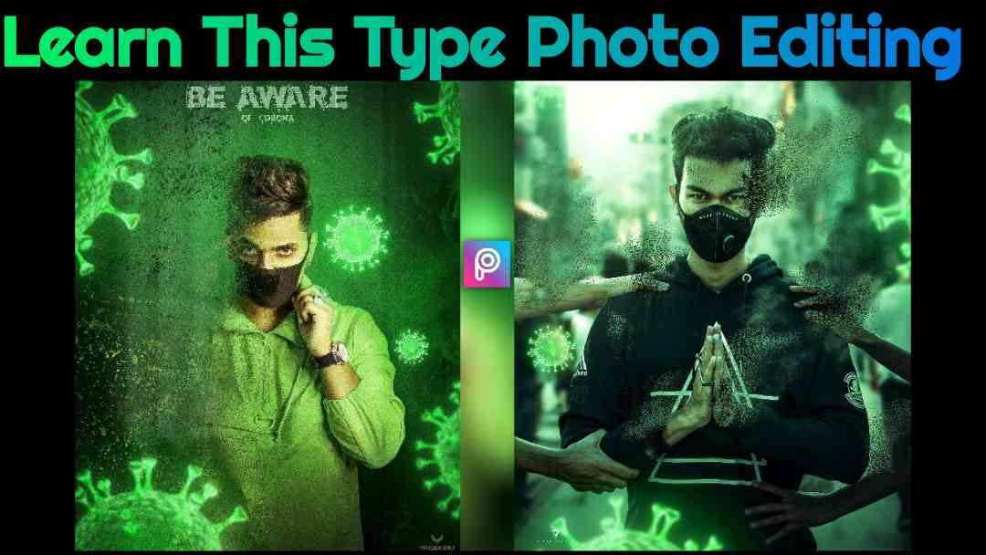 Virus Concept Photo Editing